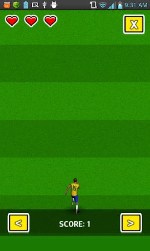 3D Football Game Free Runner