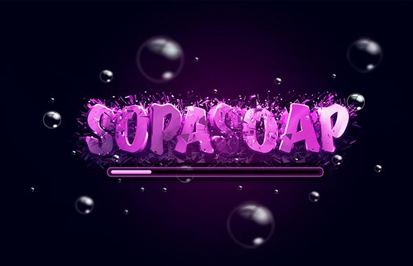 SupaSoap Free Mini-arcade - screenshot