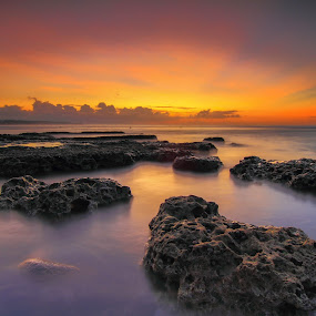 can you feel the sunshine? by I Made  Sukarnawan - Landscapes Sunsets & Sunrises ( bali, sunset, beach, sunrise, landscape )