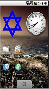 Star of David Sticker Widget - screenshot thumbnail