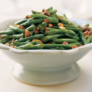Stir-Fried Green Beans with Tamari Almonds