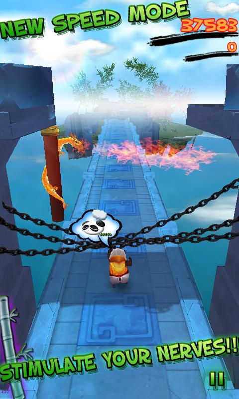 Panda Run HD- screenshot