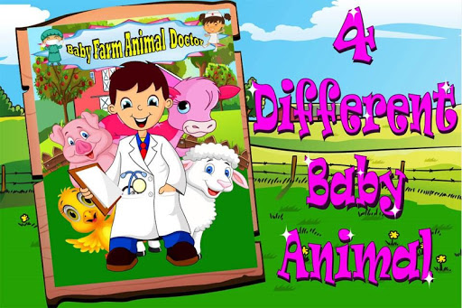 嬰兒農場動物醫生遊戲