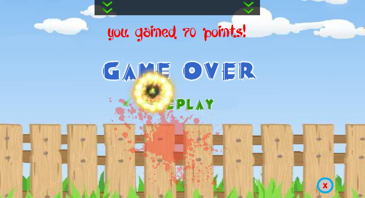 Crazy Fruits Killer - screenshot