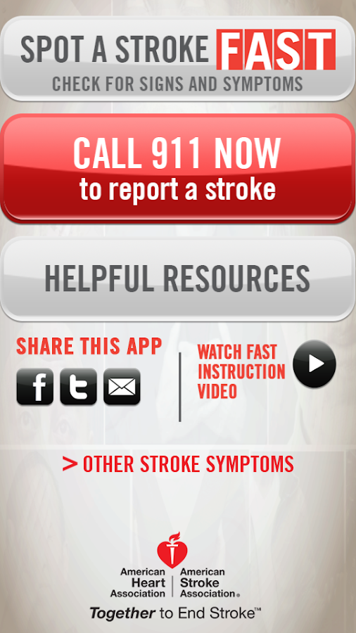 Spot a Stroke F.A.S.T. - screenshot