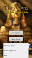 Screenshot of The Sphinx Riddles and Enigmas