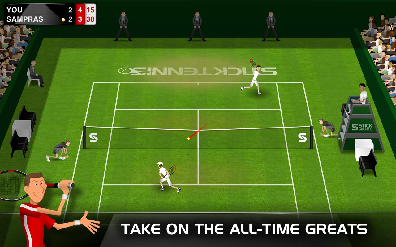 Stick Tennis Game - Sports Games - GamesFreak