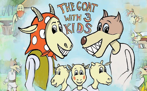 The Goat With Three Kids Pro