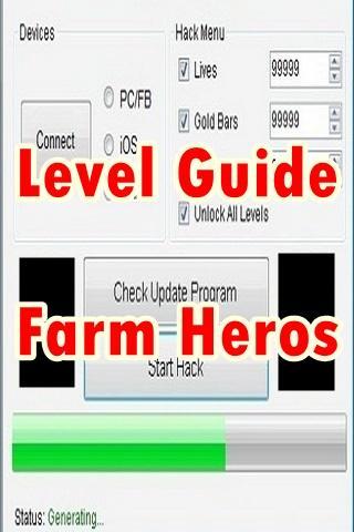 Level Guide Farm Heros