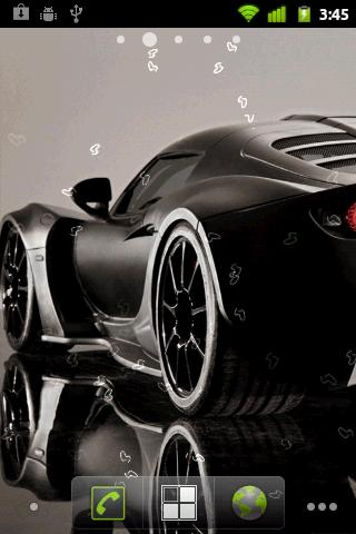 Sport Cars Live Wallpaper - screenshot