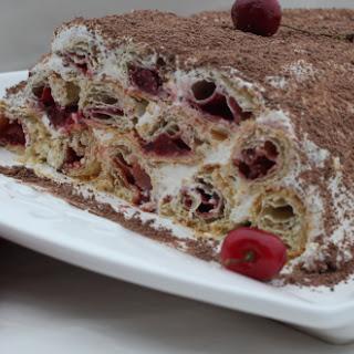 Cherry Pastry Cake