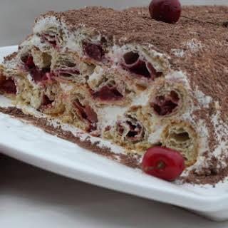 Cherry Pastry Cake.