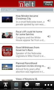NET Radio Nebraska App - screenshot thumbnail