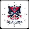 Melbourne FC Analog Clock icon