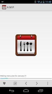 Automated Menu Planner Key