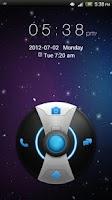 Screenshot of GO Locker Galaxy Theme
