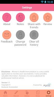 玩免費醫療APP|下載Women's Health Immunization app不用錢|硬是要APP