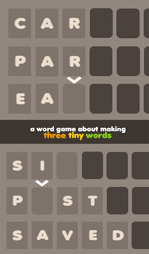 Three Tiny Words