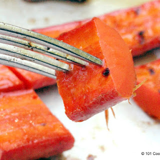 Honey Glazed Grilled Carrots