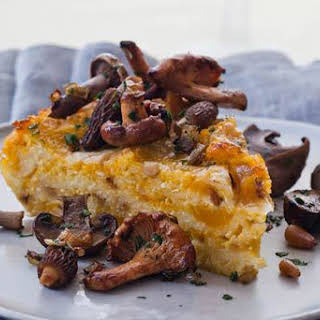 Baked Butternut Squash and Cheese Polenta.
