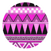 Aztec Tribal Pink Theme