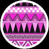 Aztec Tribal Pink Theme