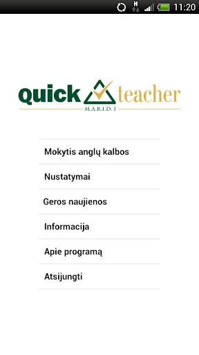 QuickTeacher Anglų kalba