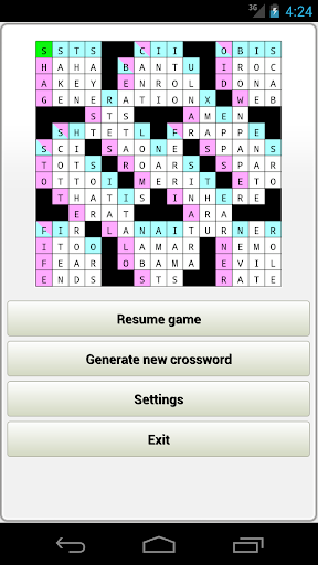 Crossword 15x15