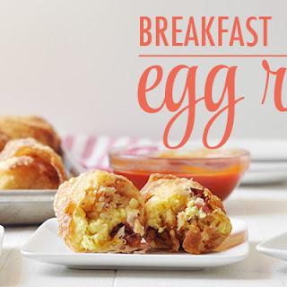 Breakfast Egg Rolls.