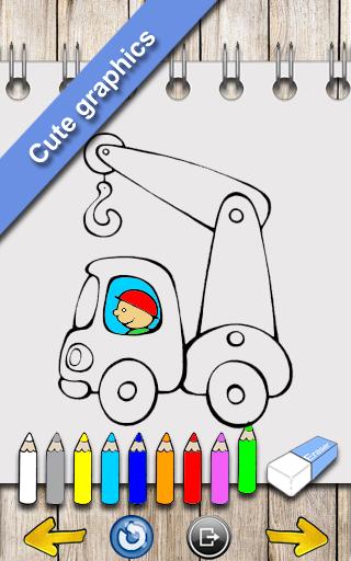 玩免費教育APP 下載汽車繪圖著色 app不用錢 硬是要APP