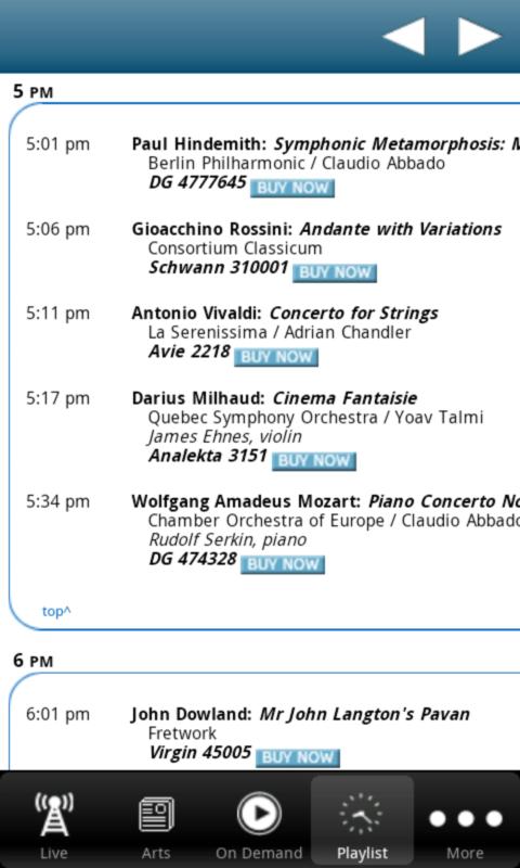 WNIU Public Radio App - screenshot