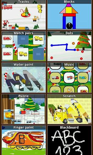 子供&幼児のゲーム:冬