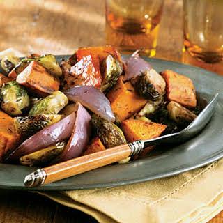 Roasted Fall Vegetables.