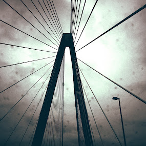 Bridge over the Mississippi  by Samantha Walls - Buildings & Architecture Bridges & Suspended Structures