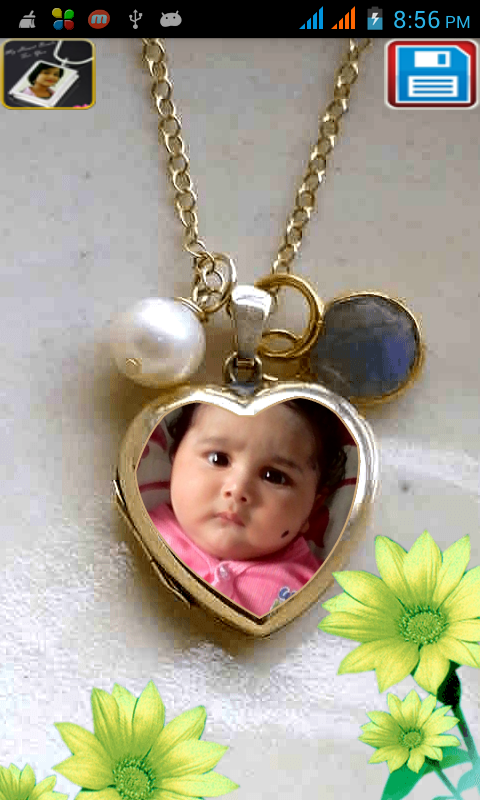 Locket Photo Frames New- screenshot