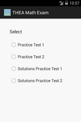 THEA Exam