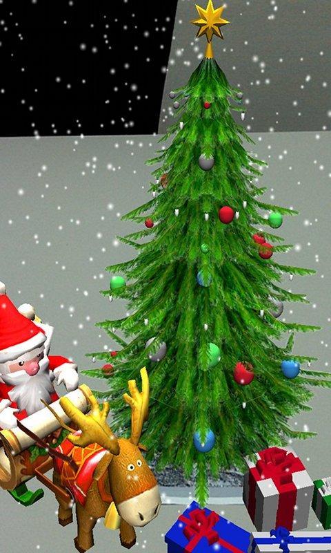 Christmas on your desk AR Free- screenshot