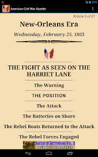 1863 Feb Am Civil War Gazette- screenshot thumbnail