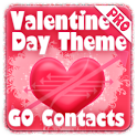 Valentines GO Contacts Theme logo