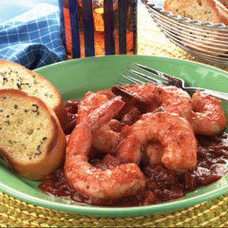 Shrimp Marinara.