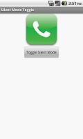 Screenshot of SilentMode