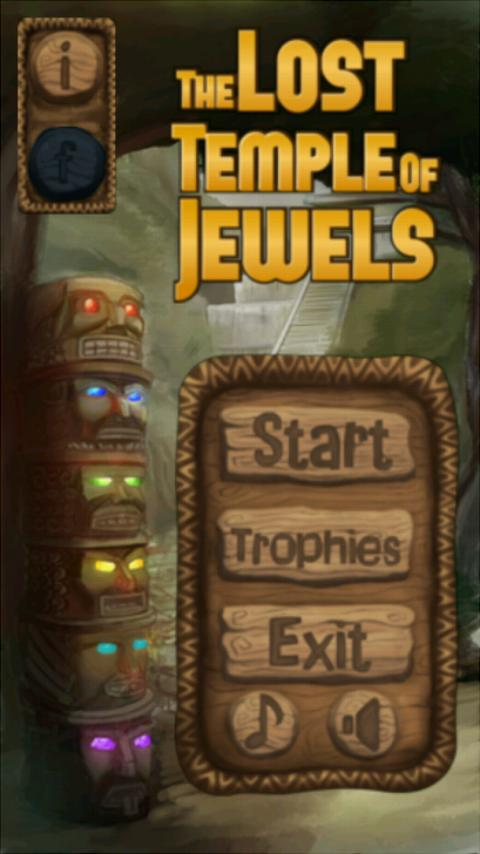 The Lost Temple of Jewels Lite - screenshot