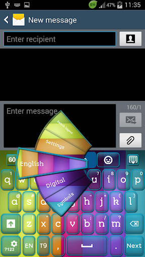 Themes Color Keyboard