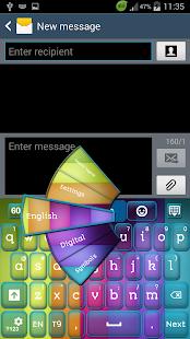 主题颜色键盘