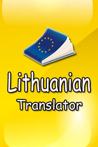 Lithuanian Translatior