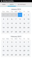 Screenshot of Hindu Calendar 2015