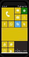 Screenshot of Launcher 8 Metro Style