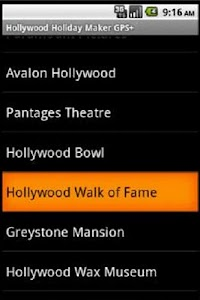 Hollywood Travel Guide GPS screenshot 2