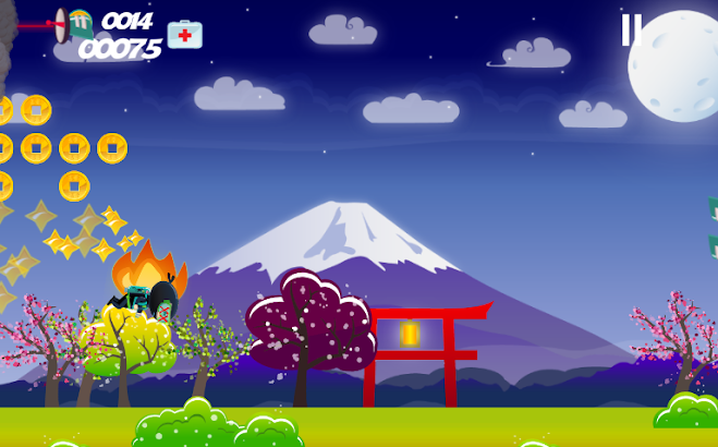 Jetpack Teenage Ninja Joyride screenshot