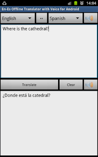 Offline Translator Spanish - screenshot thumbnail